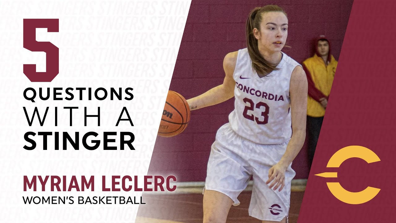 5 Questions with a Stinger: Myriam Leclerc