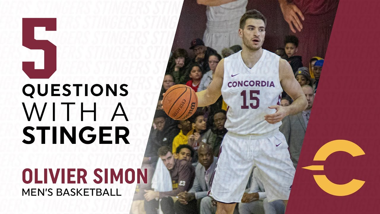 5 Questions with a Stinger: Olivier Simon