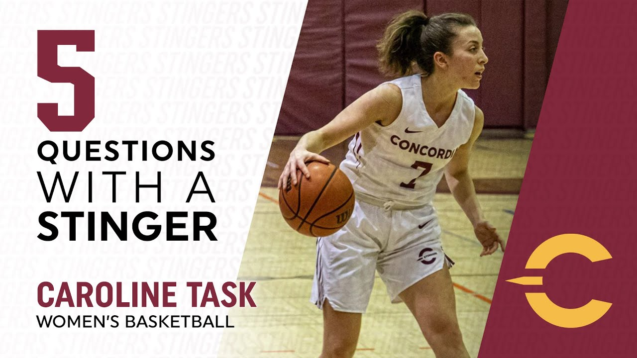 5 Questions with a Stinger: Caroline Task