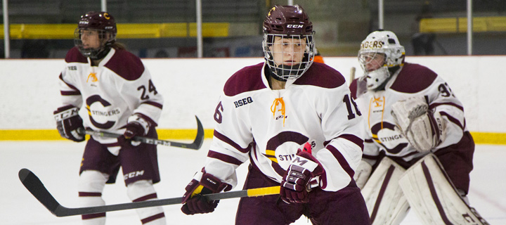Image result for concordia stingers \womens hockey