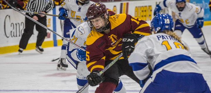 Stingers ca | Stingers women's hockey finishes fourth at