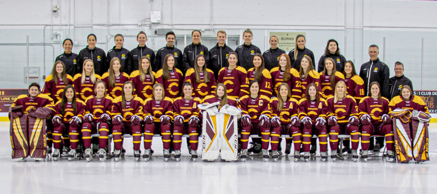 Hockey (W) 2019 Team Photo
