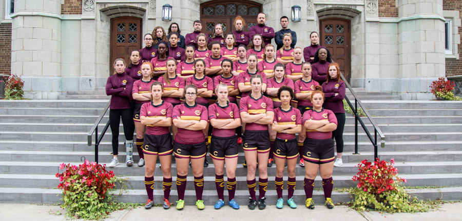 Rugby (W) 2018 Team Photo
